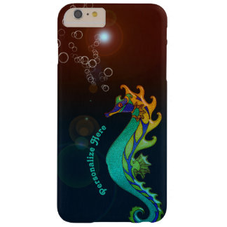 Seahorse Fantasy Personalized Barely There iPhone 6 Plus Case