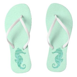 Seahorse Flip Flops
