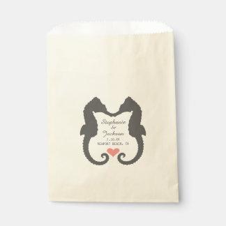 Seahorse Heart Favour Bag