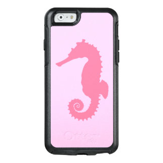 Seahorse in Silhouette OtterBox iPhone 6/6s Case