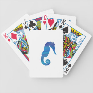 Seahorse in the Ocean Bicycle Playing Cards