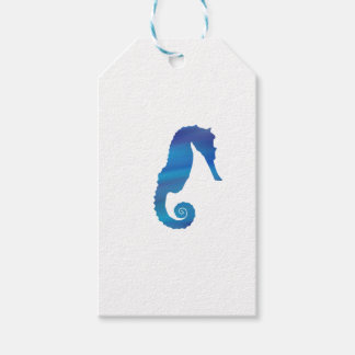 Seahorse in the Ocean Gift Tags
