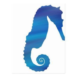 Seahorse in the Ocean Postcard
