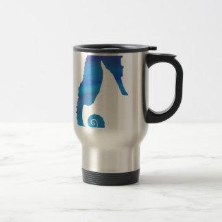 Seahorse in the Ocean Travel Mug