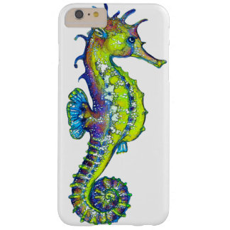 Seahorse Inky Lime Barely There iPhone 6 Plus Case