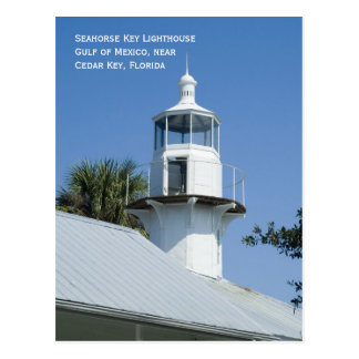 Seahorse Key Lighthouse Postcard