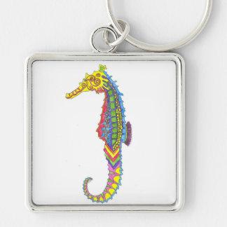 Seahorse Keyring