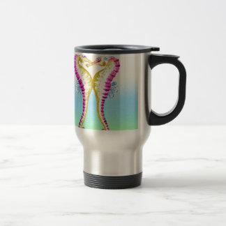 Seahorse Kiss Bubble Travel Mug