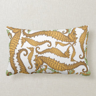 Seahorse Lumbar Pillow