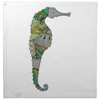 Seahorse Napkin