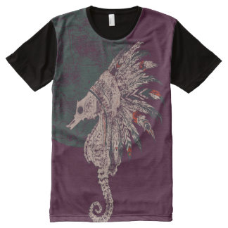seahorse native night All-Over-Print T-Shirt