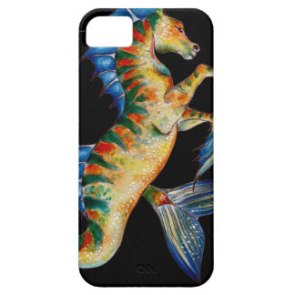 seahorse on black case for the iPhone 5