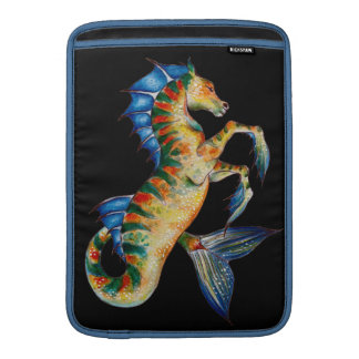 seahorse on black sleeve for MacBook air
