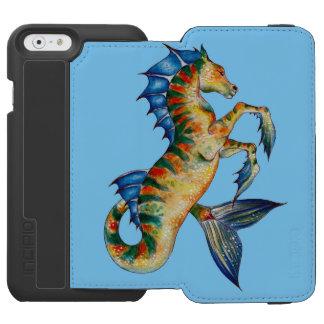 Seahorse On Blue Incipio Watson™ iPhone 6 Wallet Case