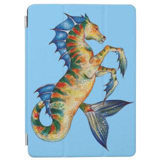 Seahorse On Blue iPad Air Cover