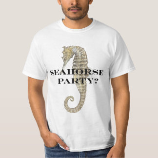 Seahorse party T-Shirt