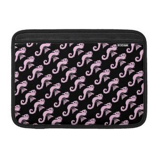 seahorse pink MacBook sleeve