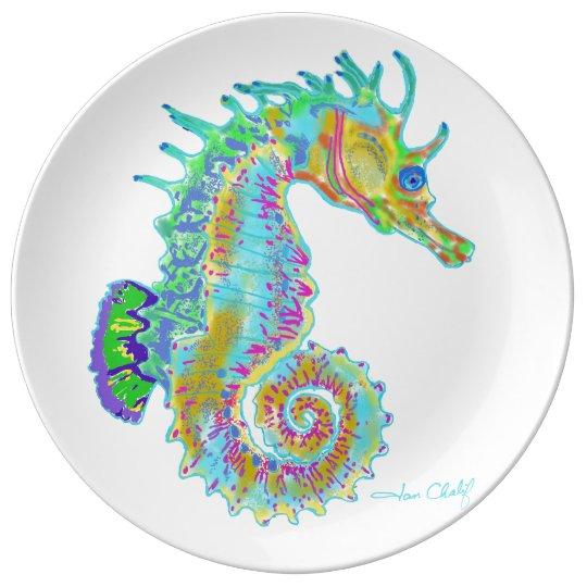 Seahorse Plate Porcelain Plates