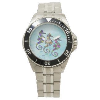 Seahorse Rainbow Wrist Watches