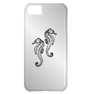 Seahorse Silver Cover For iPhone 5C