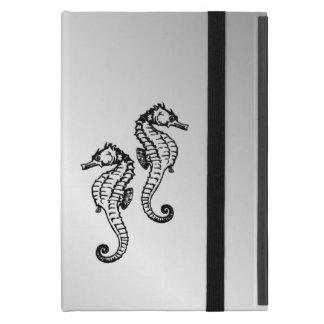 Seahorse Silver iPad Mini Cover
