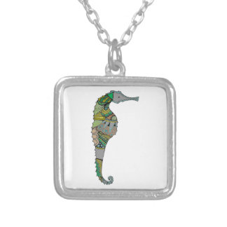 Seahorse Silver Plated Necklace