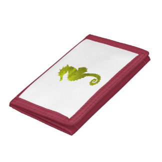 Seahorse Trifold Wallets