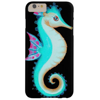 Seahorse Turquoise Barely There iPhone 6 Plus Case