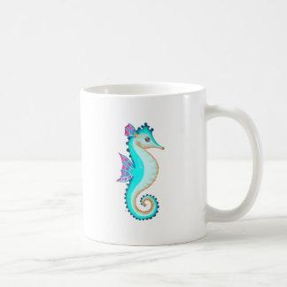 Seahorse Turquoise Coffee Mug