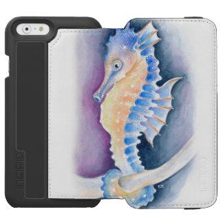Seahorse Watercolor Art Incipio Watson™ iPhone 6 Wallet Case