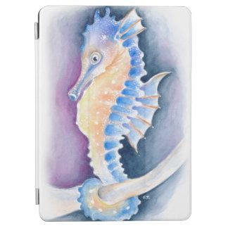 Seahorse Watercolor Art iPad Air Cover