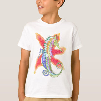Seahorses and starfish T-Shirt