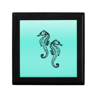 Seahorses Aqua Gift Box