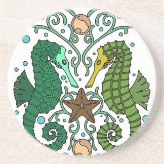 Seahorses Coaster