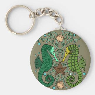 Seahorses Keychain