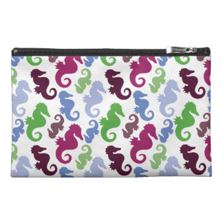 Seahorses Pattern Nautical Beach Theme Gifts Travel Accessory Bag