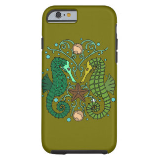 Seahorses Tough iPhone 6 Case