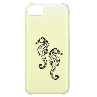 Seahorses Yellow Case For iPhone 5C
