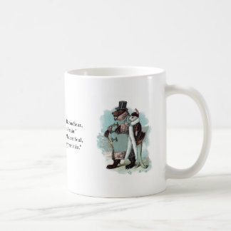 Seal and Bear on Outing Coffee Mug