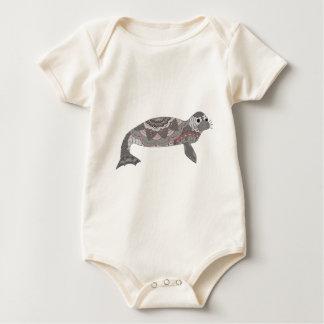 Seal Baby Bodysuit