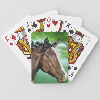 Seal Bay Thoroughbred Horse Playing Cards