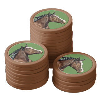 Seal Bay Thoroughbred Horse Poker Chips