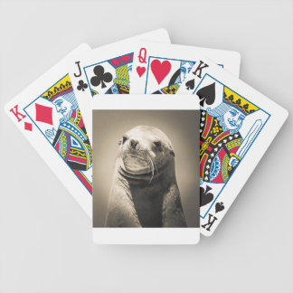seal bicycle playing cards