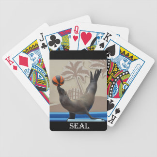 Seal (California Sea Lion) Bicycle Playing Cards