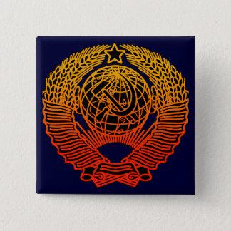 Seal (CCCP) 2 Inch Square Button