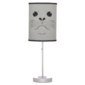 Seal face silhouette table lamp