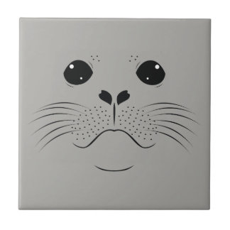 Seal face silhouette tile