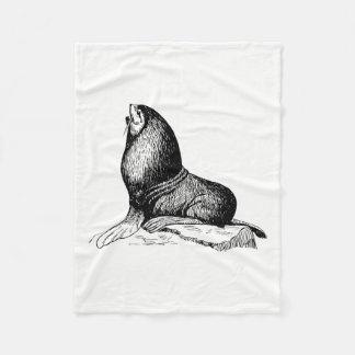 Seal Fleece Blanket
