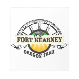seal fort kearney notepad