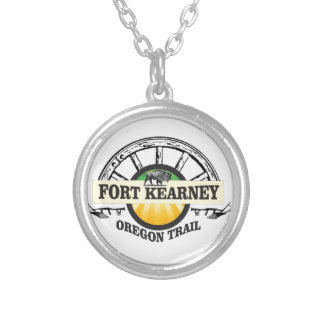 seal fort kearney silver plated necklace